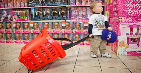 تسوق الأطفال