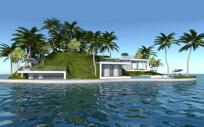 جزر خاصة