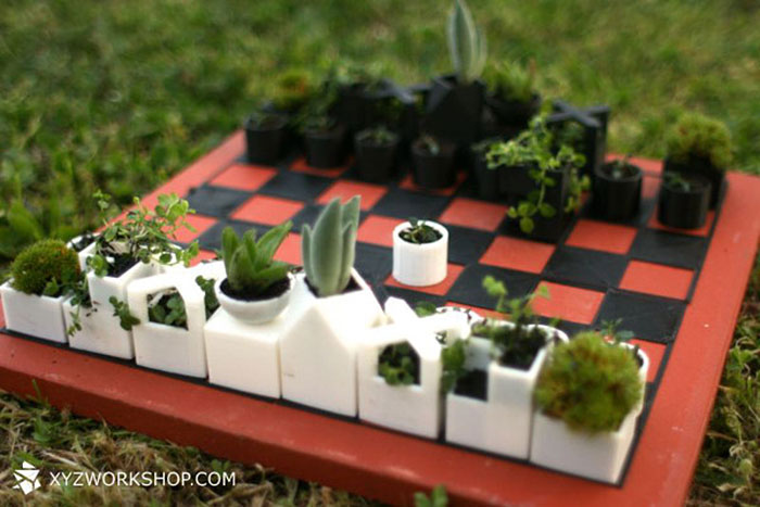 الشطرنج والزراعة