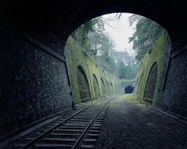 طرق قطارات مهجور