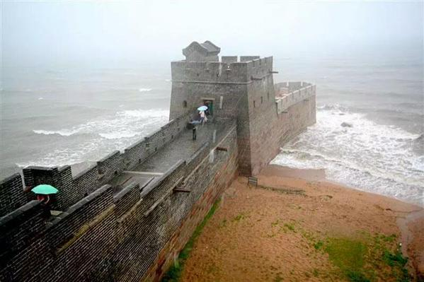 نهاية سور الصين العظيم