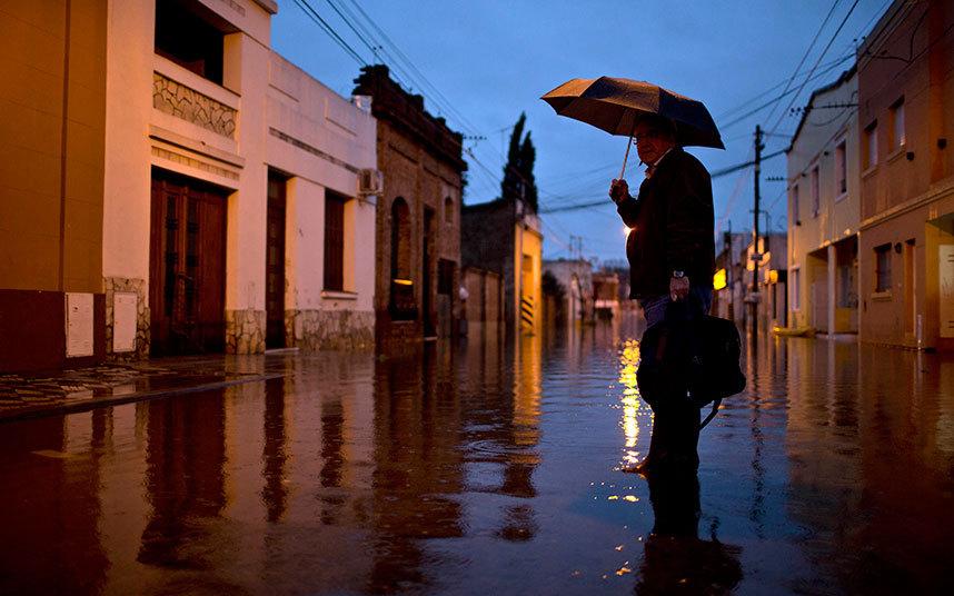 فيضانات بالأرجنتين