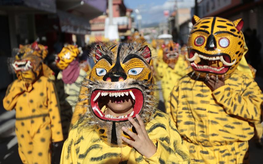 احتفالات في المكسيك