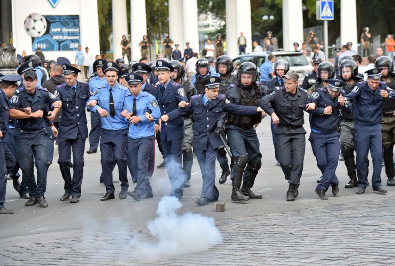 شرطة أوكرانية
