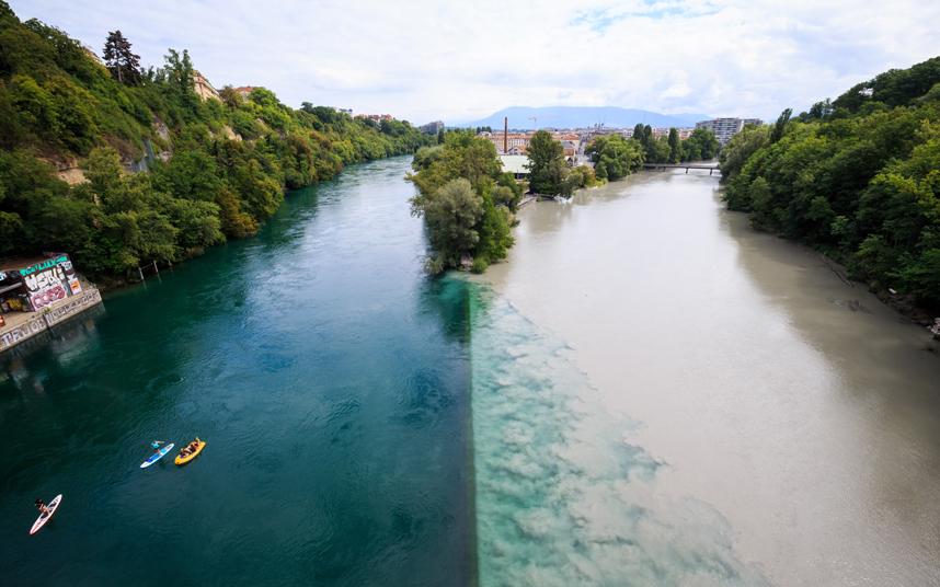 ملتقى نهرين بسويسرا