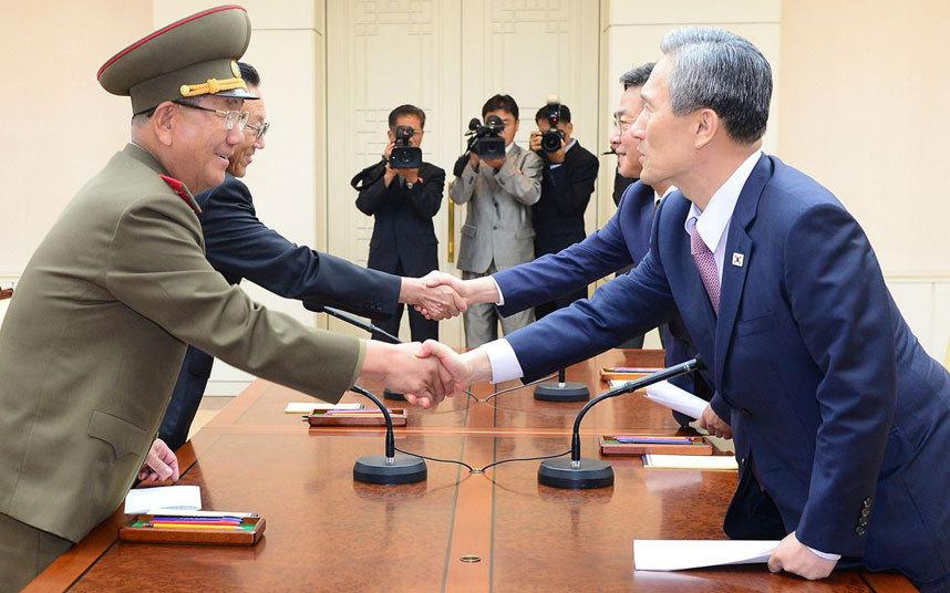 محادثات الكوريتين