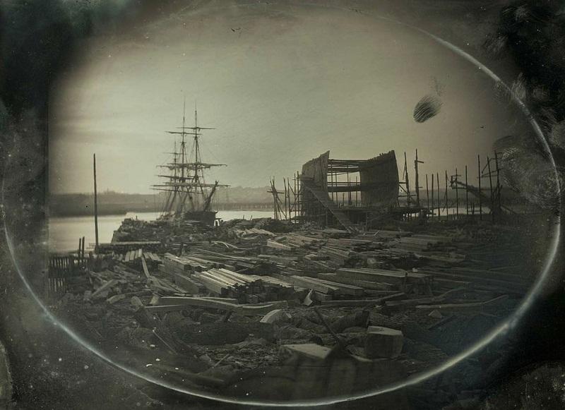 حوض بناء السفن