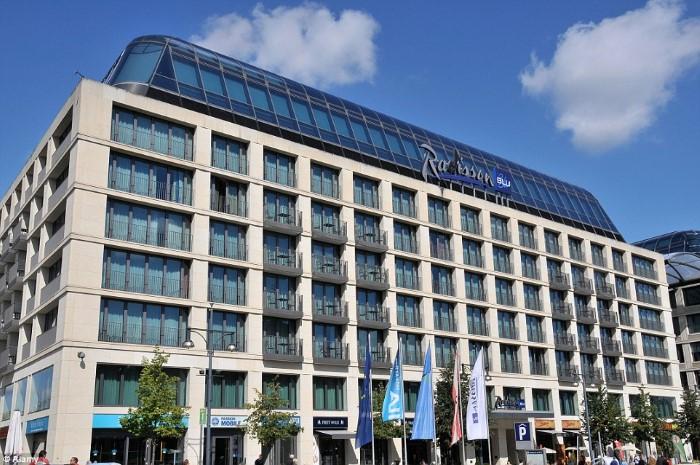 فندق راديسون بلو في برلين
