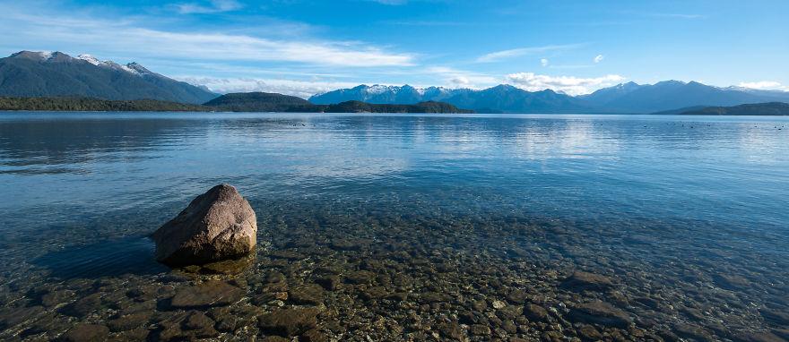 بحيرة تي أنو.