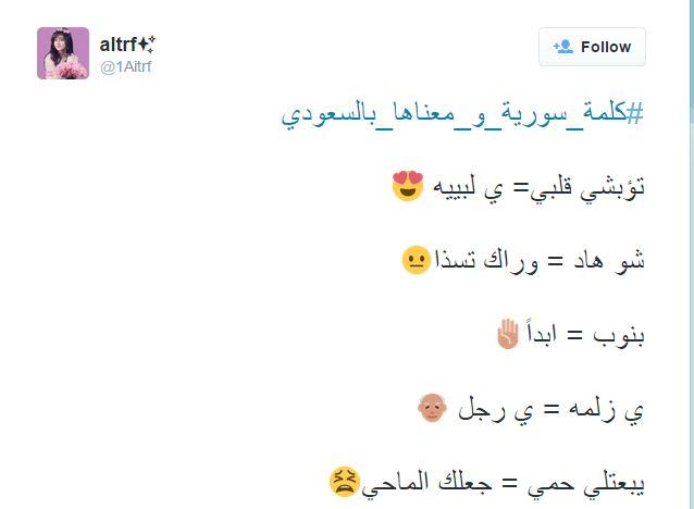 هاشتاج كلمة سورية