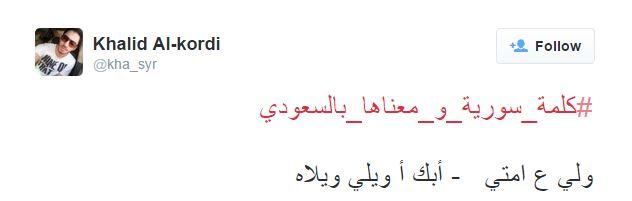هاشتاق كلمة سورية4