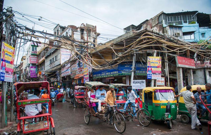 صور: جولة في أحياء دلهي القديمة