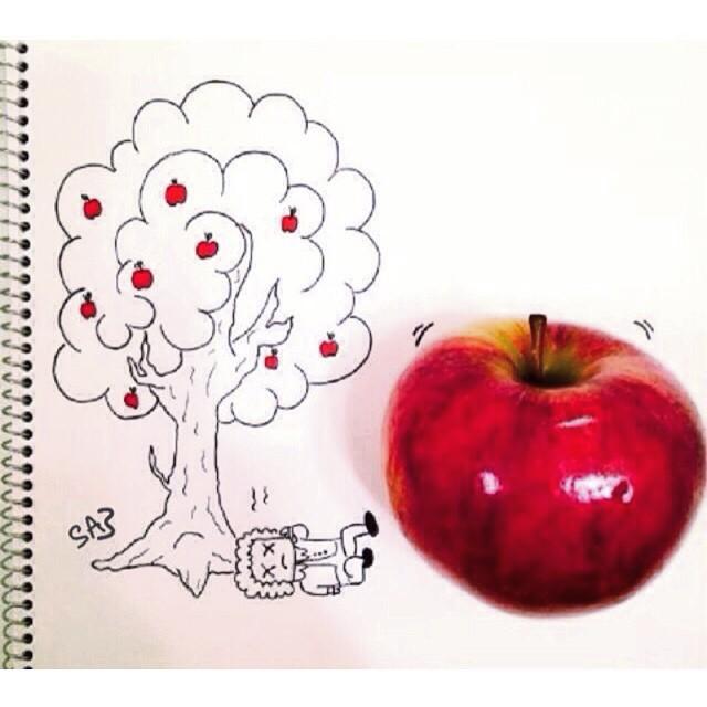 تفاحة نيوتن