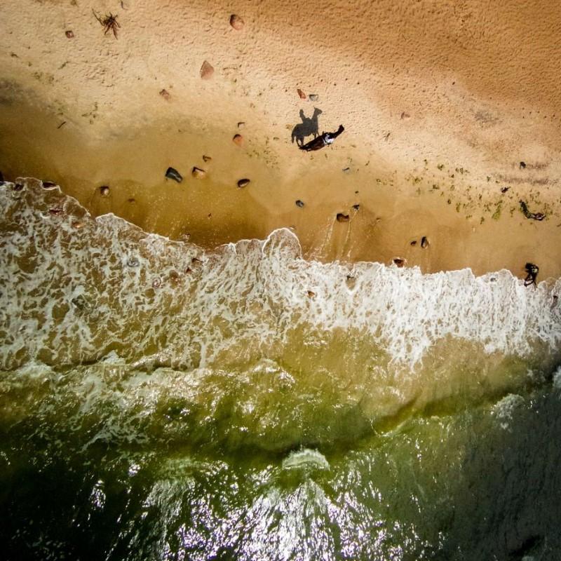 شاطئ بحر جميل