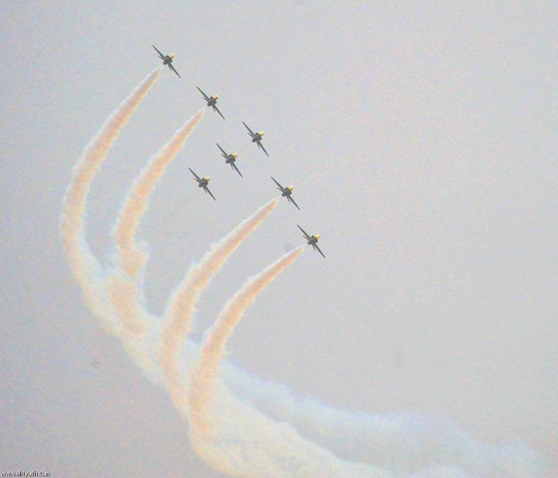 استعراض الطيران في الباحة