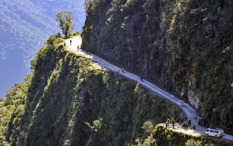 طريق يونغاس في بوليفيا
