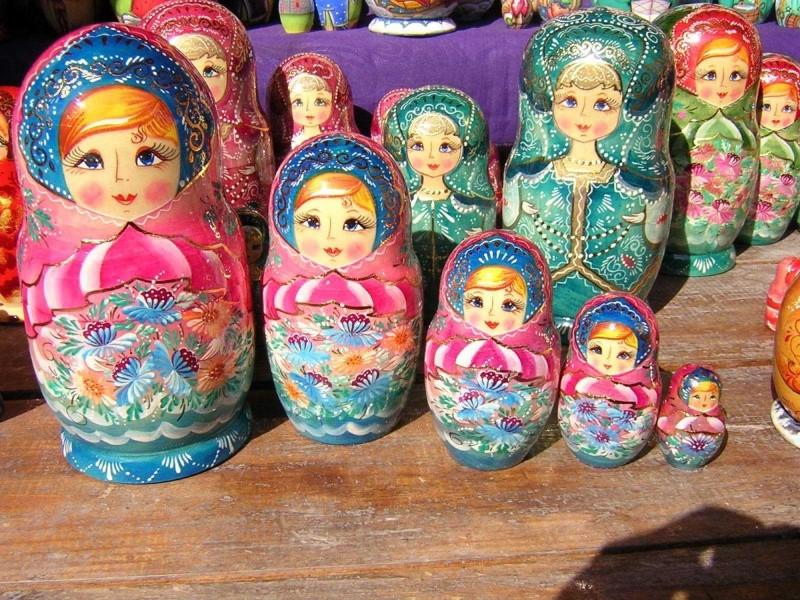 سوق Izmailovsky في موسكو