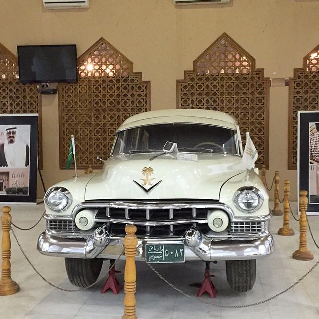 سيارة الملك عبدالعزيز