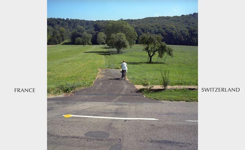 حدود سويسسرا فرنسا