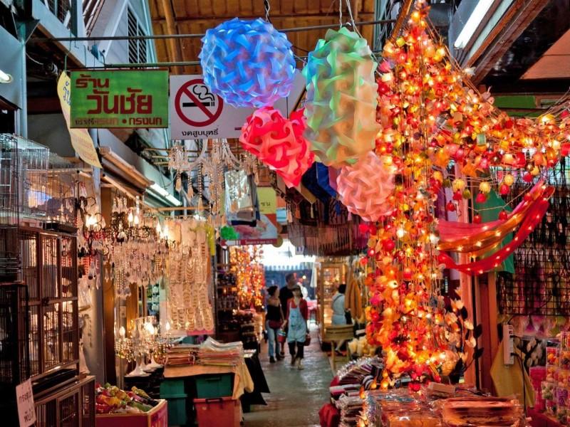 الأسواق الشعبية سوق تشاتوتشاك بانكوك