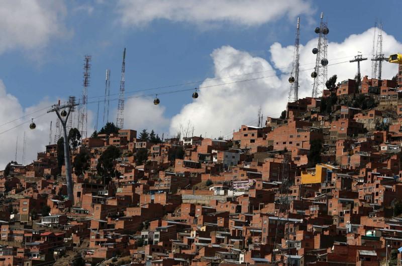 أكبر نظام تلفريك في المناطق الحضرية