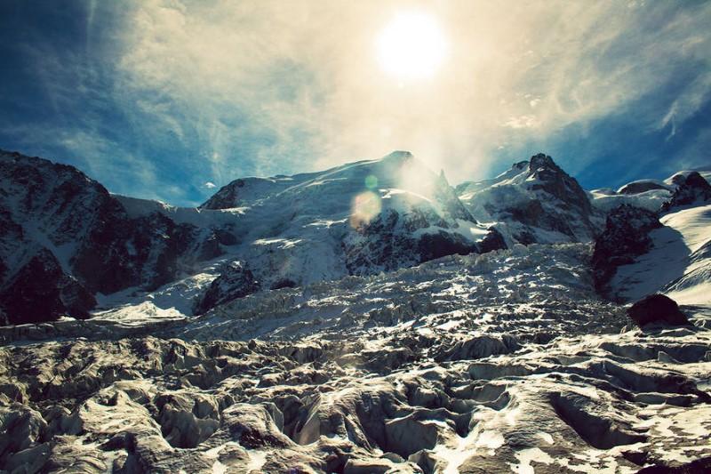 جبال جليدية