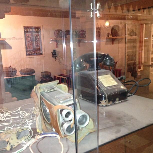 قطع أثرية في متحف بريده