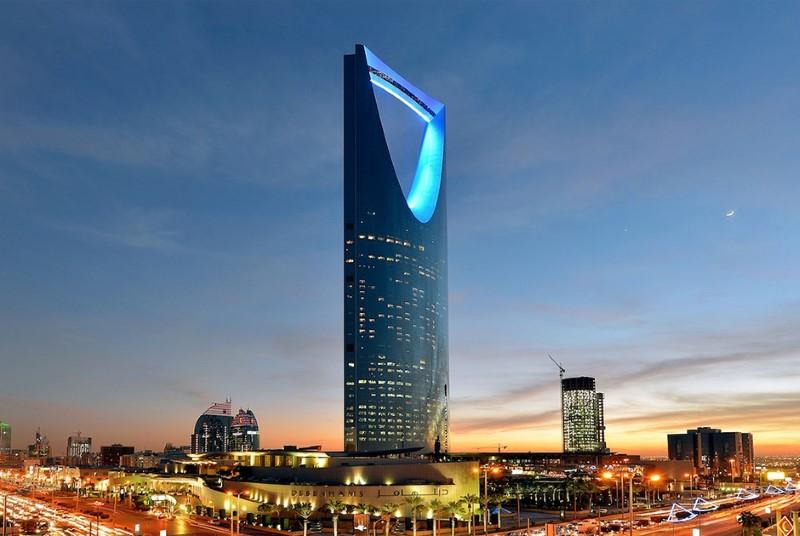مركز المملكة، الرياض