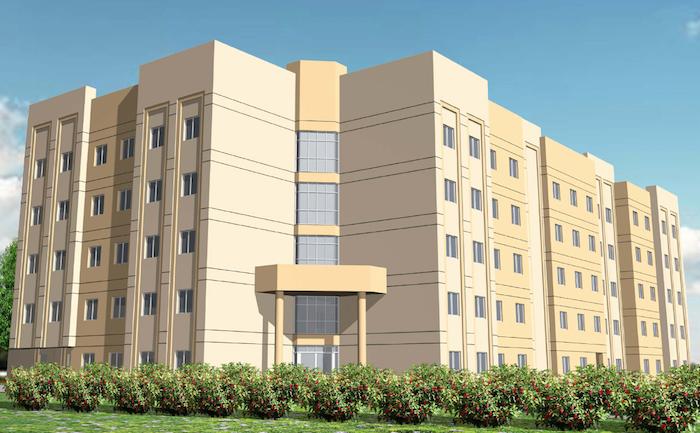 Abu Dhabi University Female Accommodation perspective