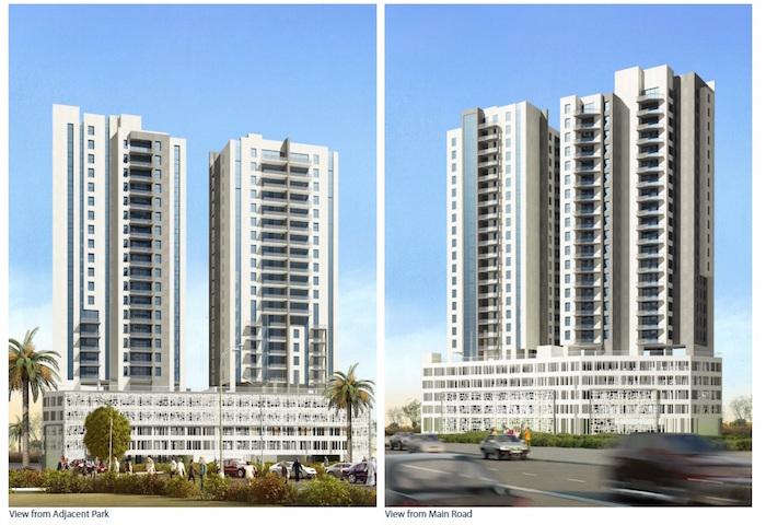bu Dhabi Island Two Residential Towers