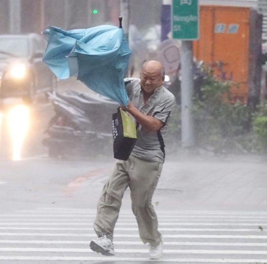 إعصار في تايوان