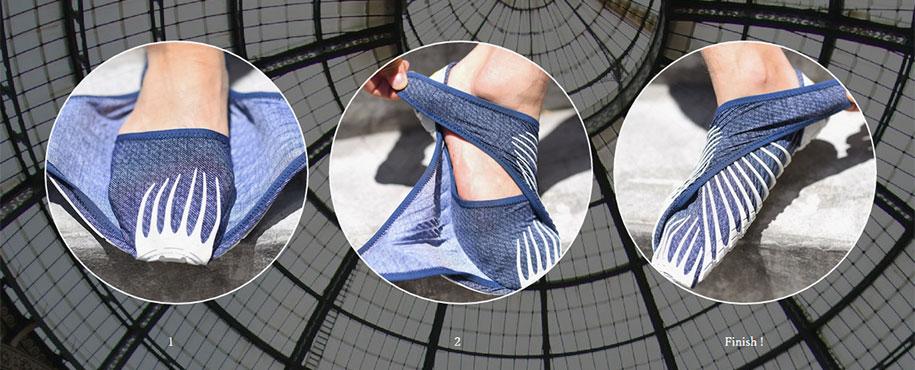 حذاء Vibram الياباني