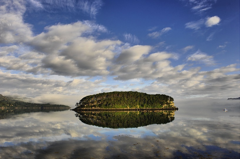 ربيع جزيرة Sheyldag