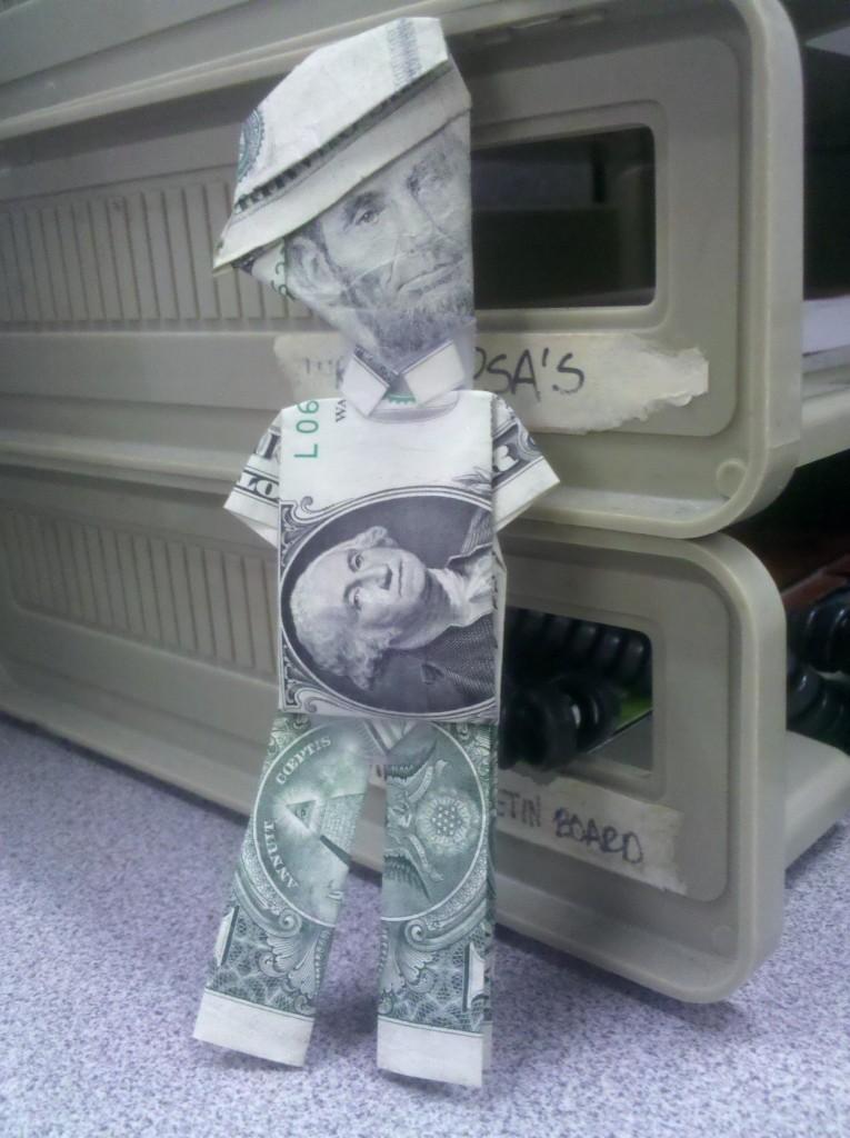 رجل الدولارات