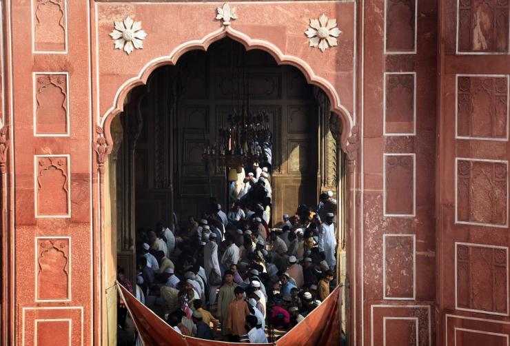 صلاة العيد بباكستان