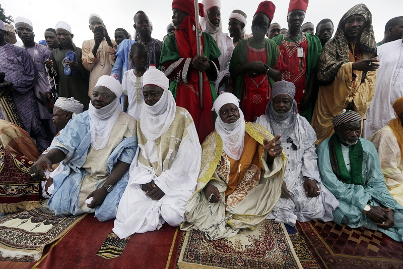 صلاة العيد بنيجيريا