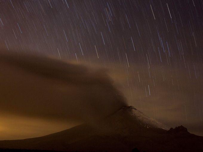 اندلاع بركان كوتوباكسي