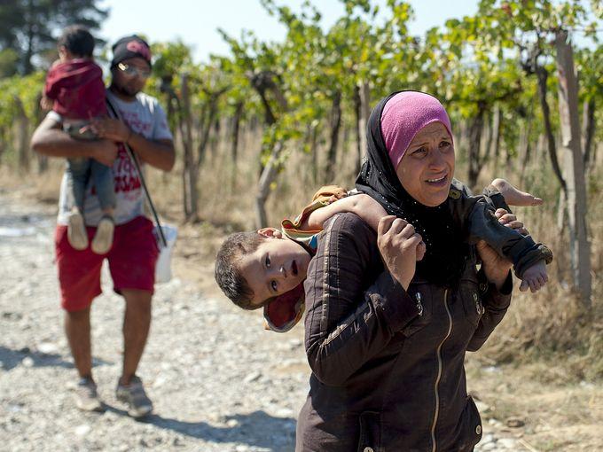 مهاجرين سوريين