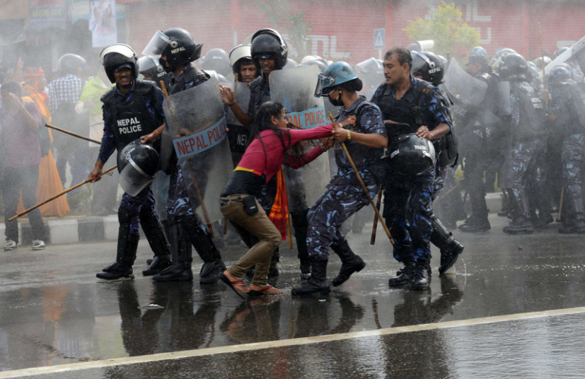 مظاهرات في نيبال