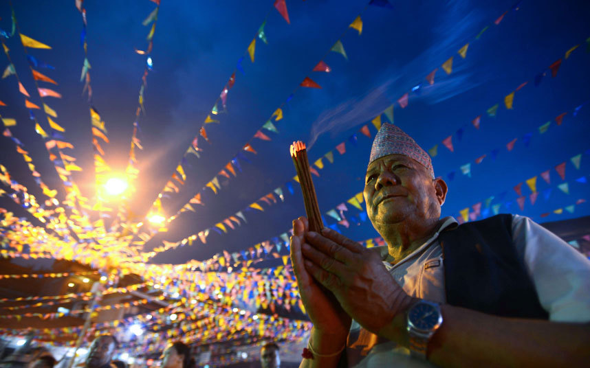 رجل نيبالي