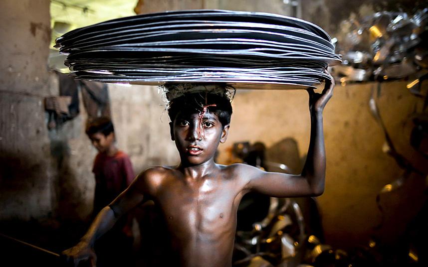 طفل بنغلاديشي
