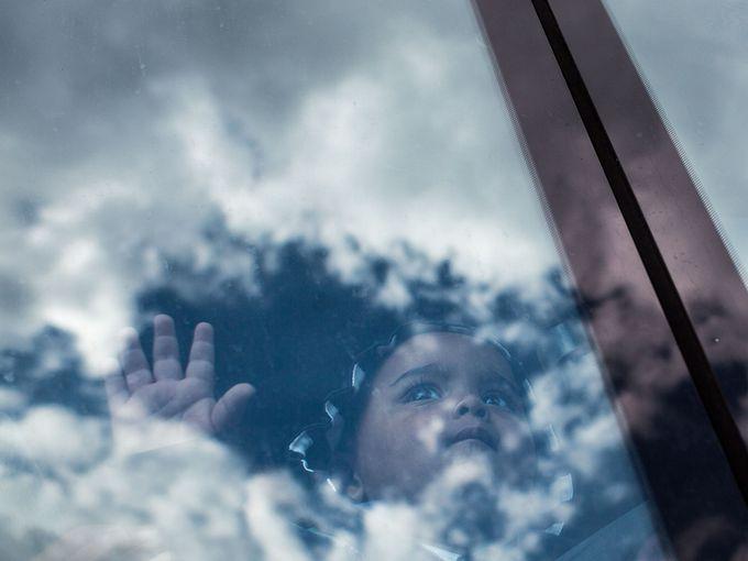 طفل لاجئ للنمسا