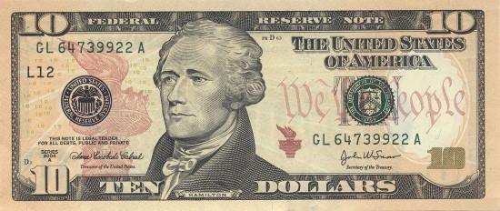 عشرة دولار 69156