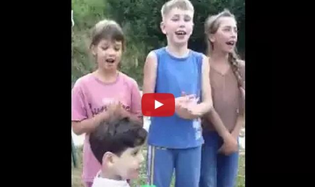فيديو أطفال غرب