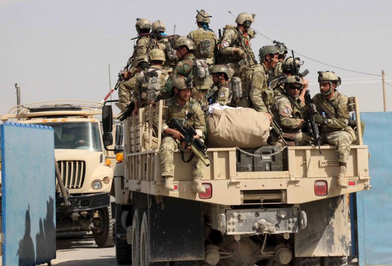 قوات أفغانية خاصة
