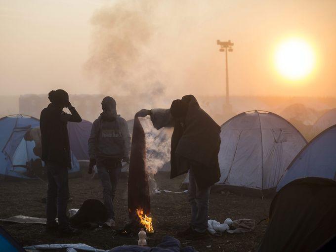 لاجئين في هنغاريا