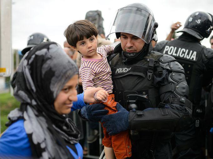 مهاجرين في سلوفينيا