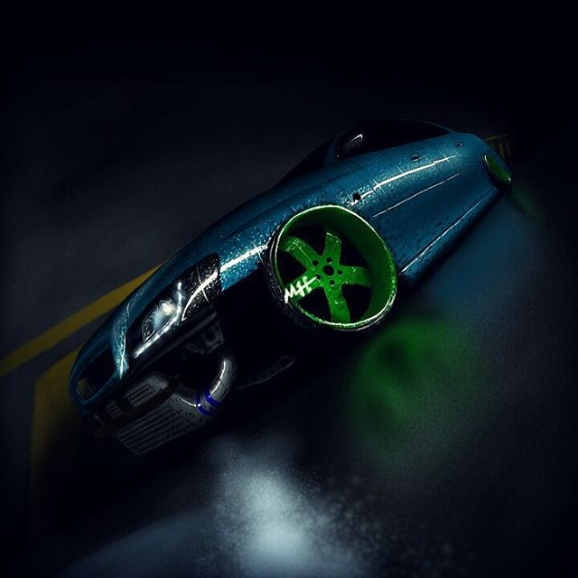 رسم سيارات موسى هزازي