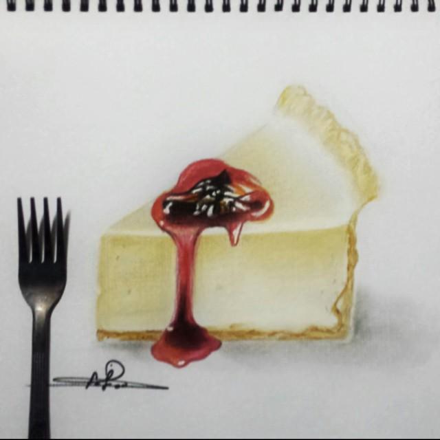 رسم كيك