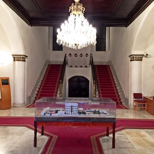 متحف شبرا من الداخل